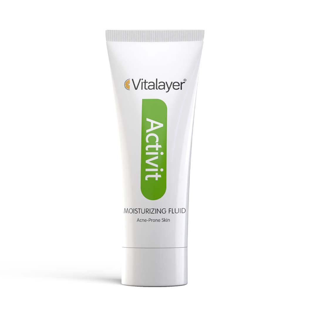 فلوئید مرطوب کننده پوست چرب ویتالیر